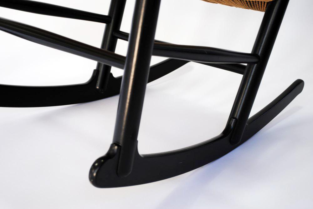 Wegner rocking chair - Palissander - Palissander