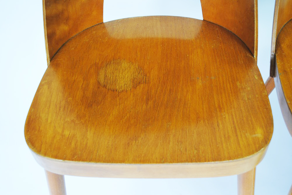 Vintage bent plywood thonet chair - Thonet Barel Back Chairs Palissander Palissander