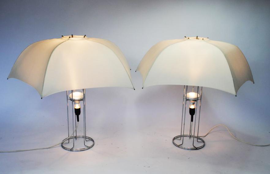 Lamps And Lighting >> Gijs Bakker umbrella lamp - Palissander - Palissander