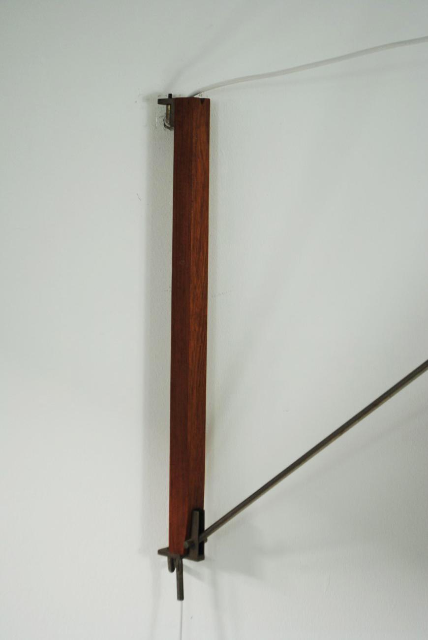 Hagoort arc lamp - Palissander - Palissander